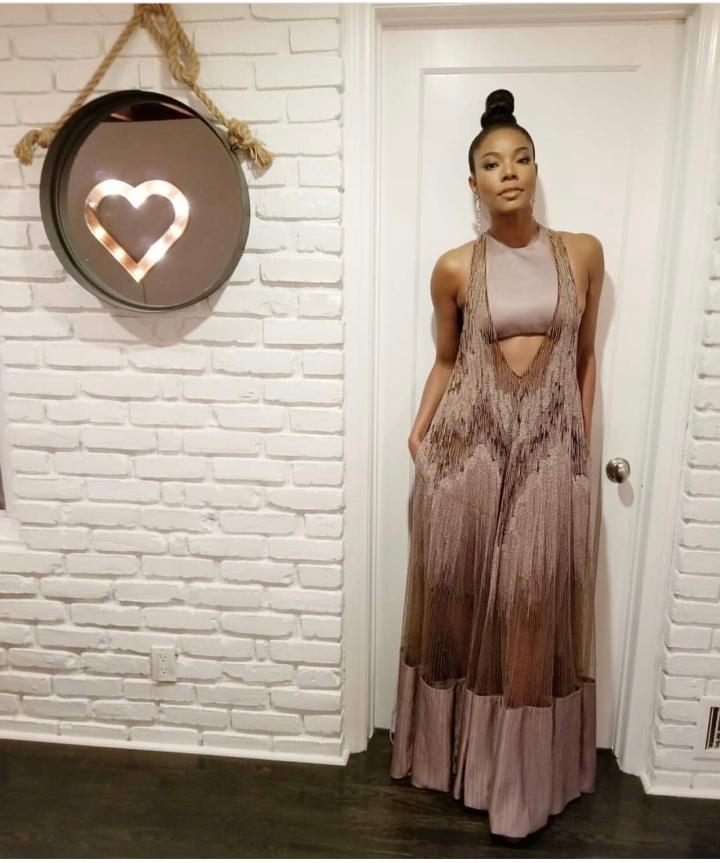 Gabrielle union stuns in a gorgeous Valentinogown