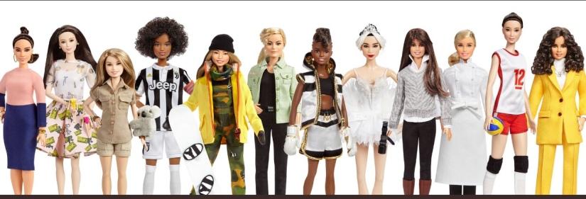Barbie honors inspiring women with new set ofdolls