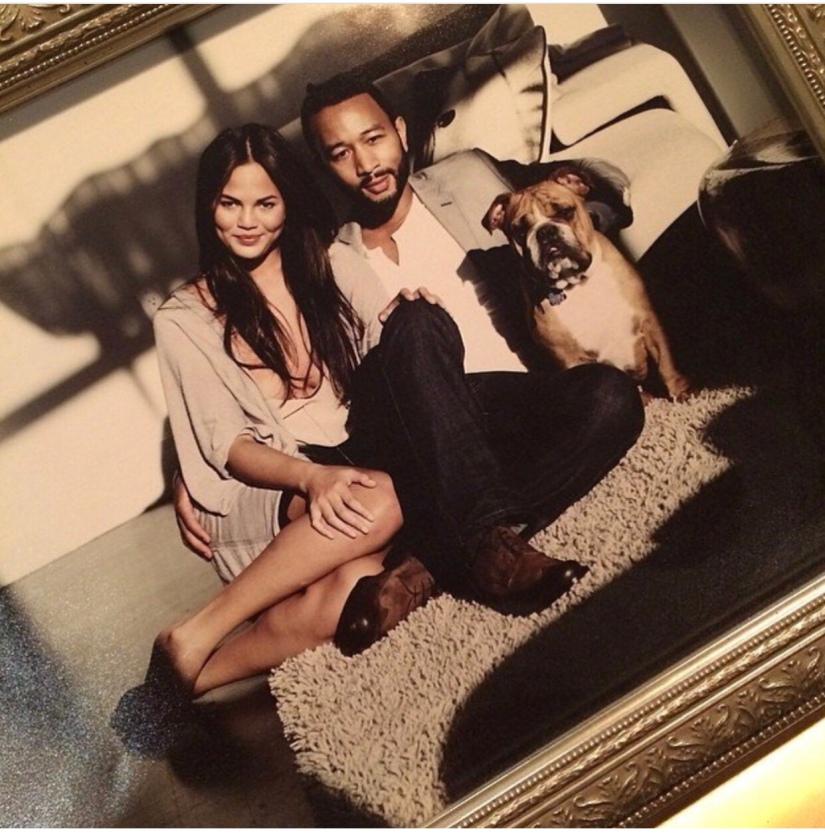 Chrissy Teigen mourns the loss of their familydog
