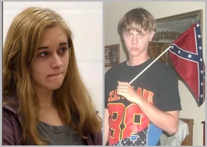 Charleston church shooter 18 yrs old sister Morgan Roof arrested for possession of weapon and Marijuana on schoolgrounds