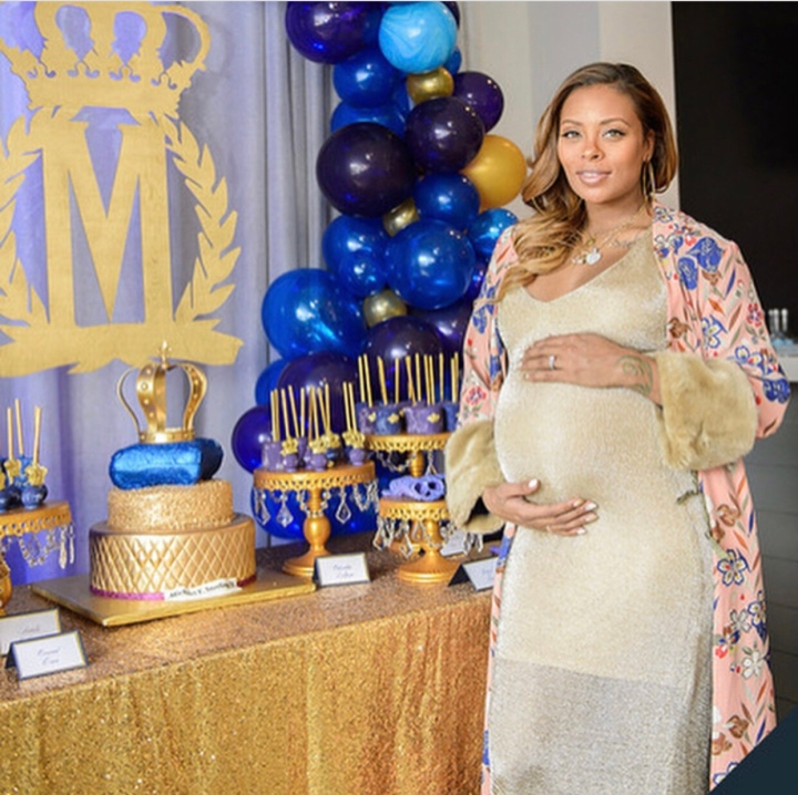 Eva Marcille celebrates baby shower in a royal themed party